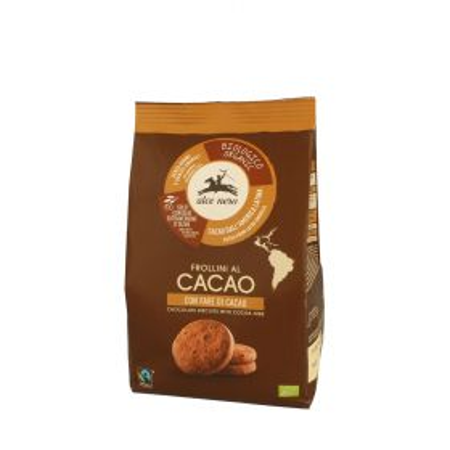 Alce Nero Frollini al cacao con fave di cacao Bio gr. 250