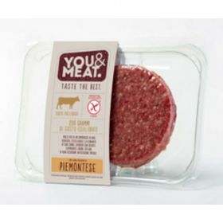 You&Meat Burger piemontese gr. 200