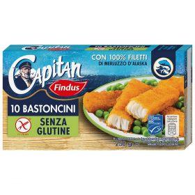 Findus Bastoncini di merluzzo senza glutine gr. 250