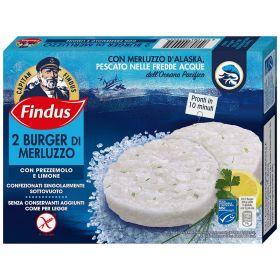 Findus Burger di merluzzo gr. 170