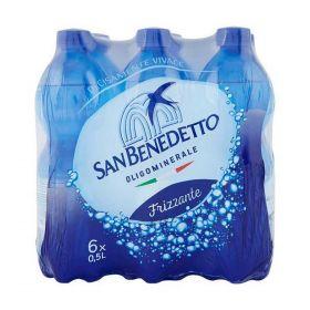 S.Benedetto Acqua frizzante cl. 50 x 6