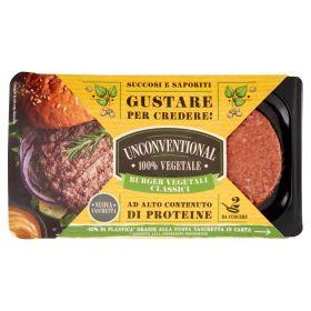 Unconventional Unconventional Burger Vegetali Classici 2x110gr