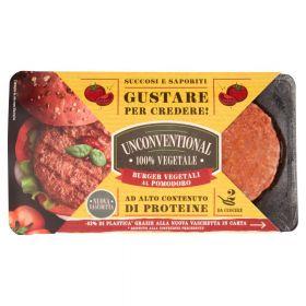 Unconventional Unconventional Burger Vegetali al Pomodoro 2x110 g