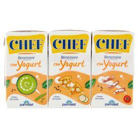 Parmalat Chef Benessere con Yogurt ml 125 x 3