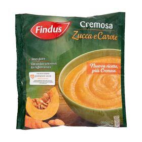 Findus Cremosa di zucca carote  gr.600