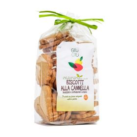 Giù Giù Biscotti integrali alla cannella gr. 250