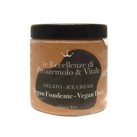 Le Eccellenze di Prezzemolo & Vitale Gelato al Cioccolato Fondente Vegan gr.350