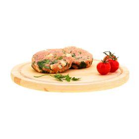 Le selezioni P&V Hamburger di pollo con verdure e formaggio